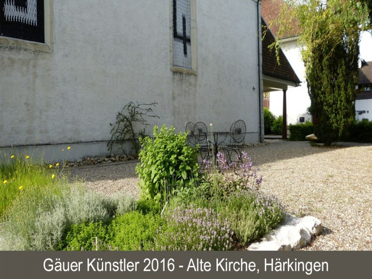 Gäuer Künstler 2016 – Alte Kirche, Härkingen