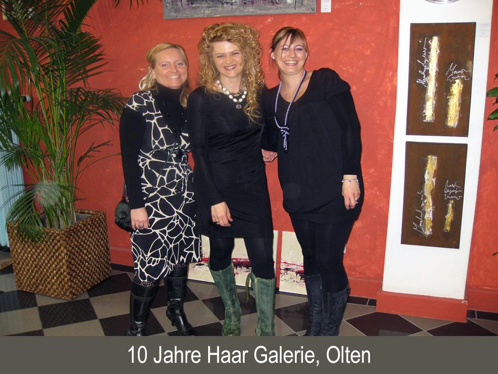 10 Jahre Haar Galerie, Olten