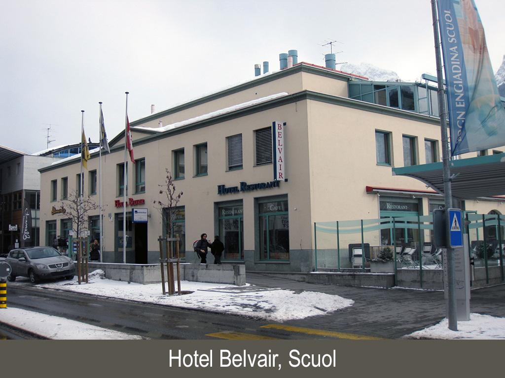 Hotel Belvair, Scuol