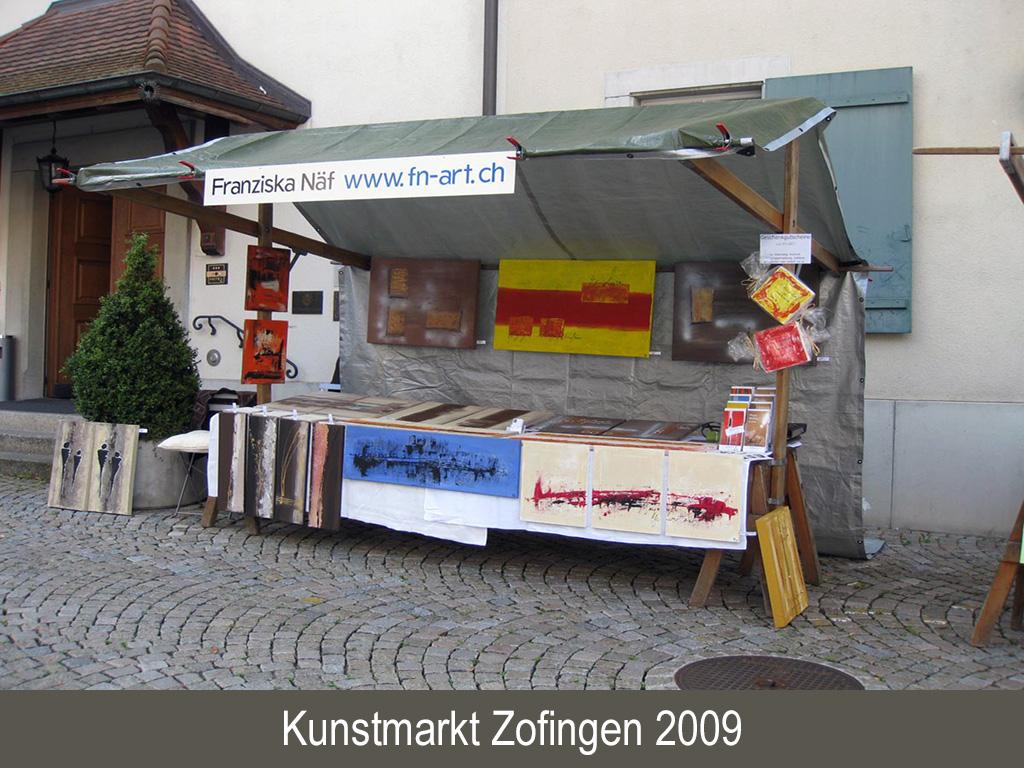 Kunstmarkt Zofingen 2009