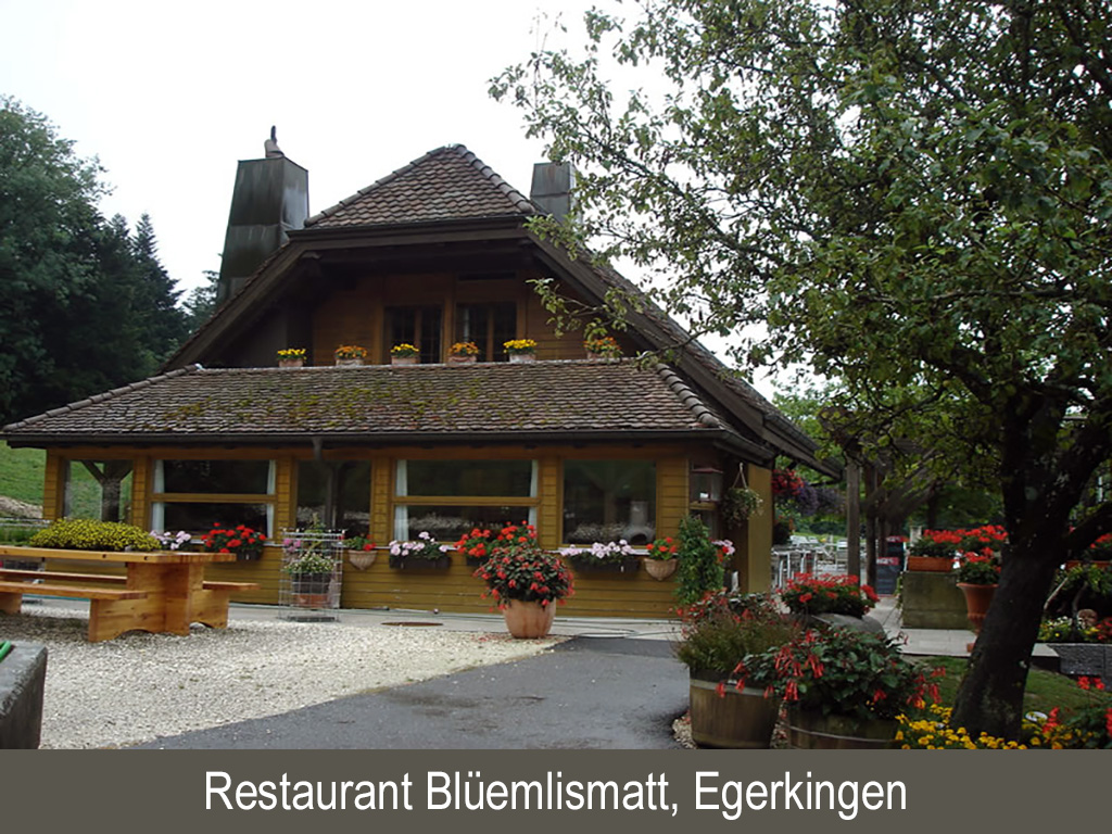 Restaurant Blüemlismatt, Egerkingen