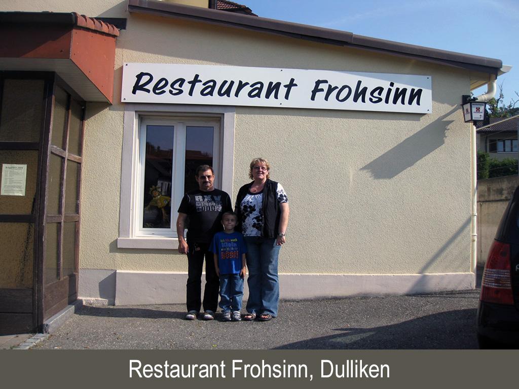 Restaurant Frohsinn, Dulliken