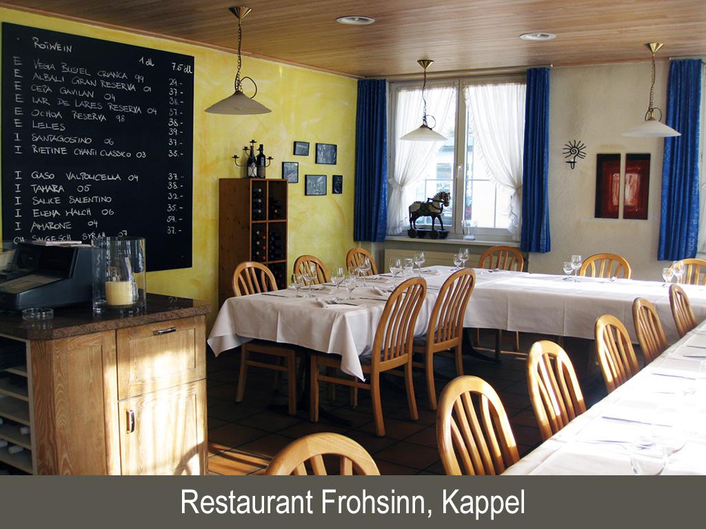 Restaurant Frohsinn, Kappel