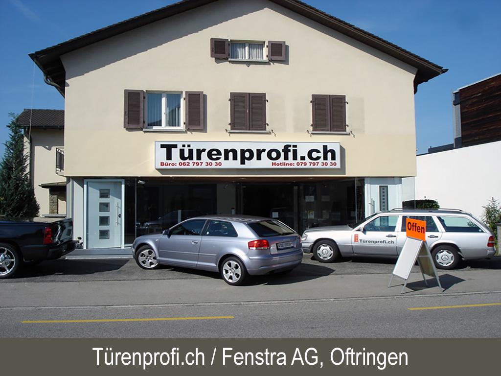 Türenprofi / Fenstra AG, Oftringen