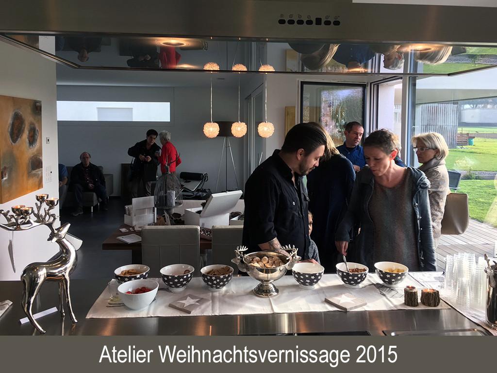 Atelier Weihnachtsvernissage 2015