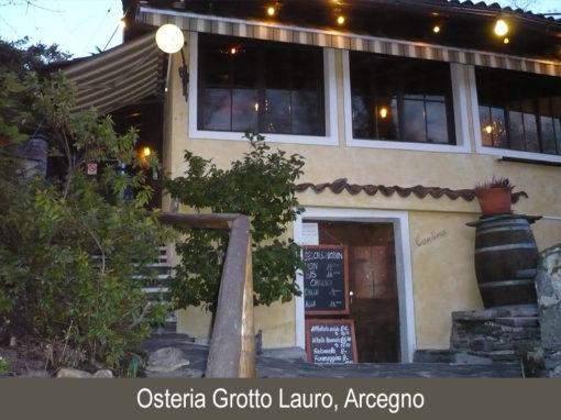 Osteria Grotto Lauro, Arcegno